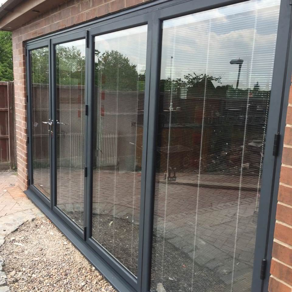 Bi Folding Doors in Preston (7) & Aluminium Bi-fold Doors Preston Chorley Leyland Blackpool Lytham.